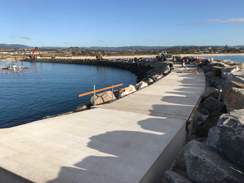 shellcove marina breakwall
